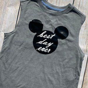 Best Day Ever Mickey Mouse Kid's Graphic Shirt